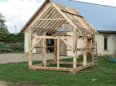 How To Build A 10x10 Shed by Shed Plans Hip Roof