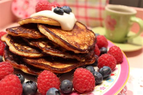 carb pancakes pfannkuchen mit vanille happy carb