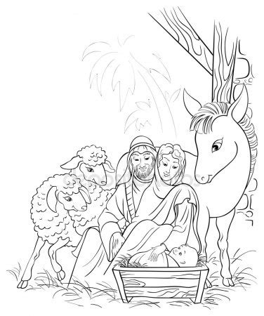 Mit Kindern Basteln Weihnachten 2440 by Vectores De Stock De Colorear Dibujos Ilustraciones De