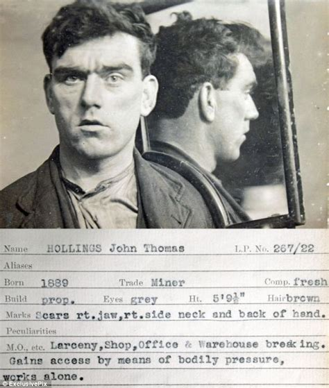 Shop Cops Style Criminals Take The Fall Second City Style Fashion vintage mugshots reveal the burglars of the 1930s