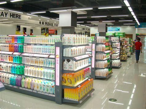 scaffale supermercato scaffale conveniente personalizzabile della lozione di