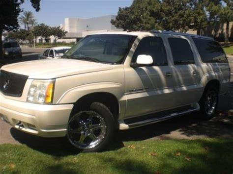 how make cars 2003 cadillac escalade esv free book repair manuals buy used 2003 cadillac escalade esv loaded nice in fountain valley california united states