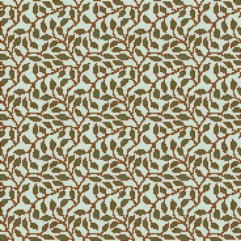 mosaic leaf pattern leaf vine repeating glass mosaic tile pattern from