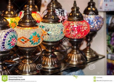 Turkish Chandeliers For Sale Turkish Ls For Sale In The Grand Bazaar Stock Photo Image 47404868