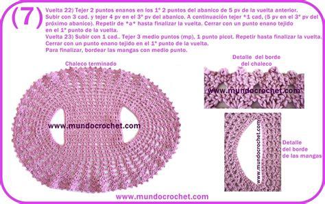 chaleco redondo crochet patron a chalecos archivos mundo crochet