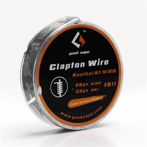 Geekvape Nichrome Ni80 26ga 30ft Authentic authentic 2 71 ohm 5m geekvape clapton coil wire