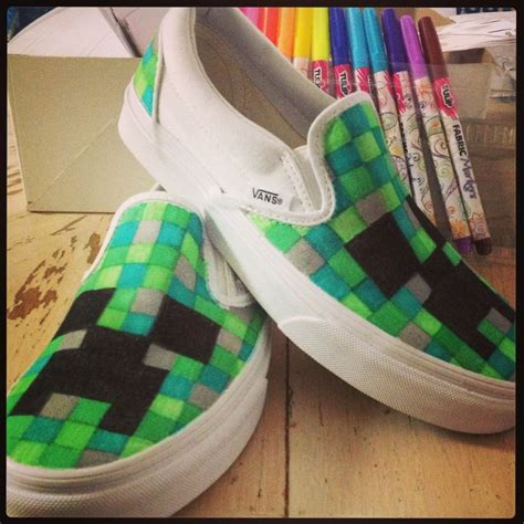 diy minecraft shoes minecraft shoes refashion diy refashion