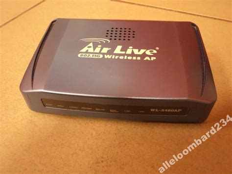 Router Wifi Airlive router ovislink air live wl 5460ap v2 zdj苹cie na imged