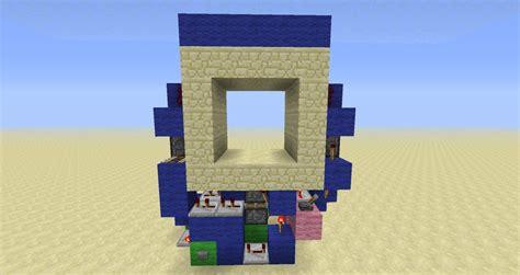 How To Make A 3x3 Piston Door by Compact 3x3 Piston Door Minecraft Project