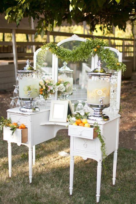 Cheap Backyard Reception Ideas Decoraci 243 N Vintage Para Bodas 27 Ideas Cl 225 Sicas