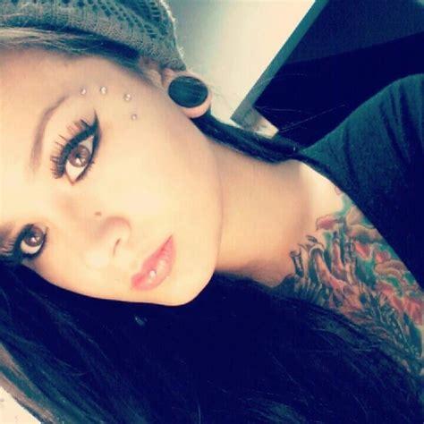 17 best images about dermal piercings on