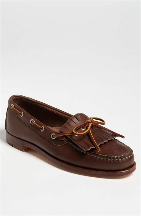kiltie loafers eastland ellsworth usa kiltie loafer in brown for lyst