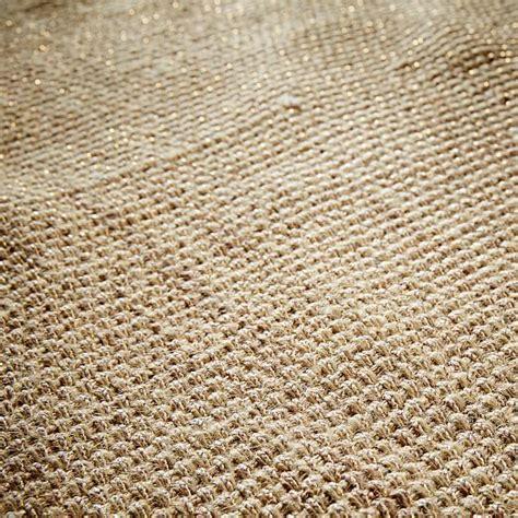 metallic rug solid metallic jute rug gold west elm