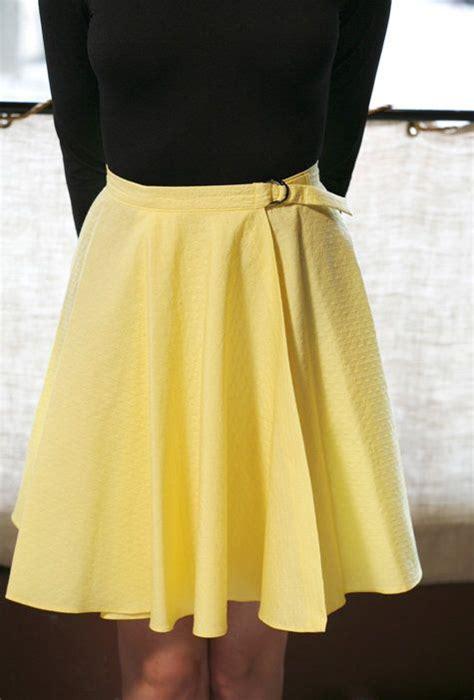 free pattern wrap skirt circle skirts circle skirt tutorial and circles on pinterest