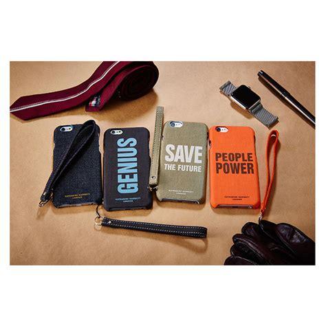 Katharine Hamnett Saves The Future With Cole by Iphone6s 6 ケース Katharine Hamnett Fabric Save