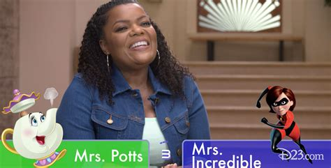 three plays the mayor the mayor s yvette nicole brown plays d23 s disney this or that d23