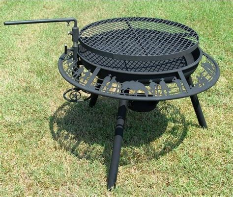 ultimate bbq steel outdoor fire pit