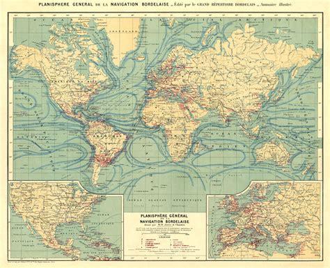 vintage map restored vintage maps