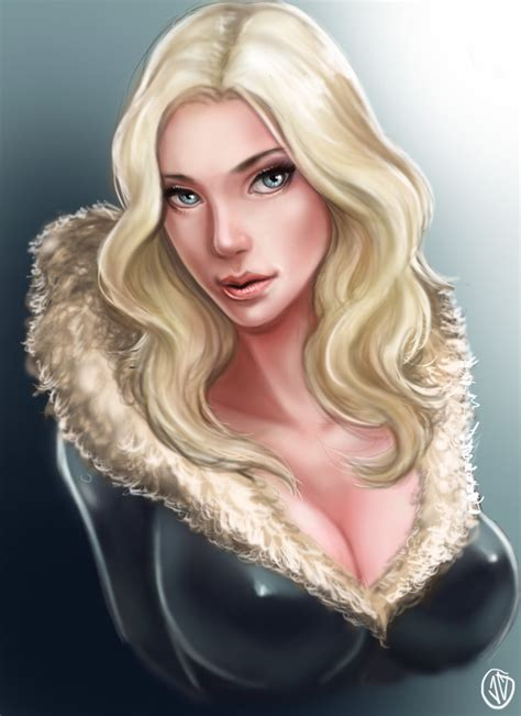 blonde bombshell by jaeon009 on deviantart