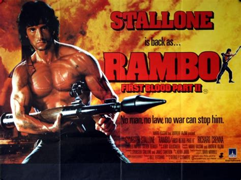 film rambo part 1 rambo first blood part ii vintage movie posters