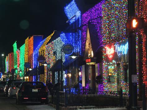 light shows in michigan the big bright light in downtown rochester mi