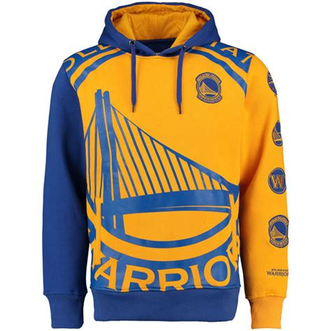 Ready Stock Sweater Golden State Warriors Blue Yellow s golden state warriors unk royal feelings pullover