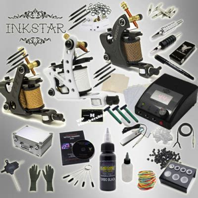 inkstar tattoo kit the hildbrandt professional supply kit system 2