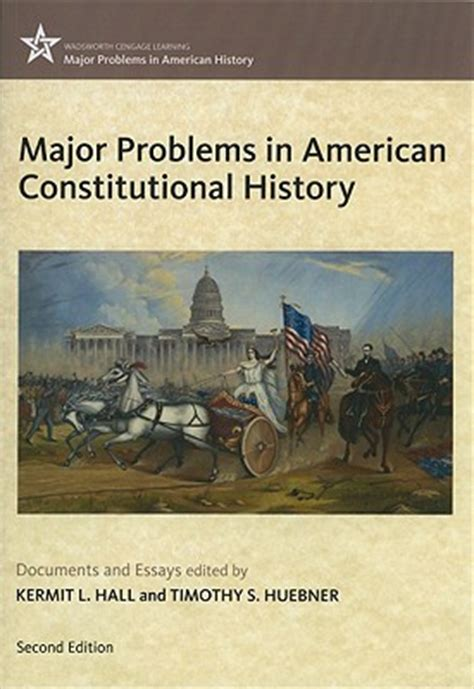 constitutional problems lincoln books major problems in american constitutional history