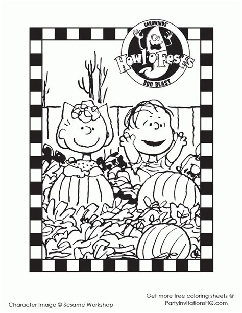 charlie brown great pumpkin coloring pages coloring home