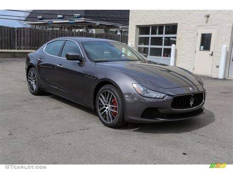2016 Grigio Maratea Dark Grey Metallic Maserati Ghibli S
