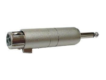 Jeck Jek Xlr Jek Canon redukce 6 3mm vidlice mono xlr canon 3 pin z 225 suvka