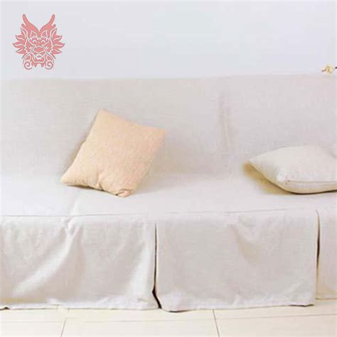 white linen couch covers white sectional slipcover promotion shop for promotional