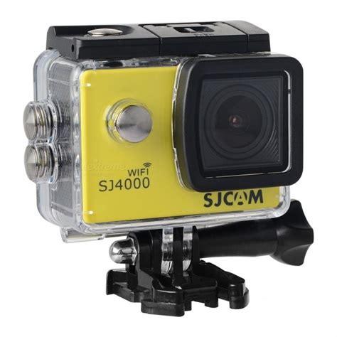 Sjcam Sj4000 Review sjcam sj4000 wi fi 2 0 quot 12mp cmos 1080p sport yellow free shipping dealextreme
