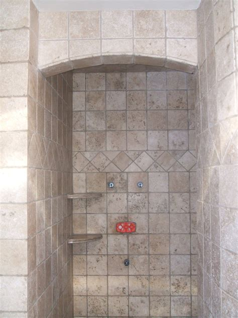 Ceramic Tile Bathroom Terrific Ceramic Tile Shower Ideas Small Bathrooms With Awesome Stainless Shower And Chrome