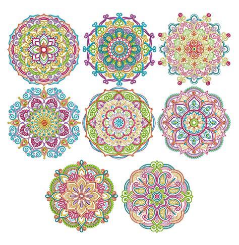 Marvelous Mandalas Set 1 Designs For