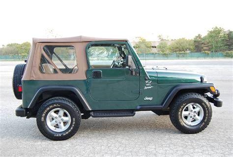 2000 Jeep Wrangler Yj Or Tj 2000 Jeep Wrangler Sport 4 0 Tj Sport Utility Suv 4x4