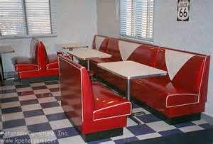 retro dining set with booth images
