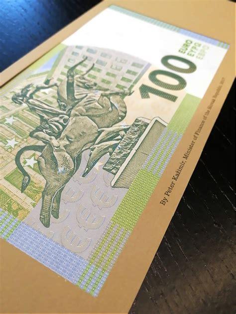 euros commemorative banknote  schauble