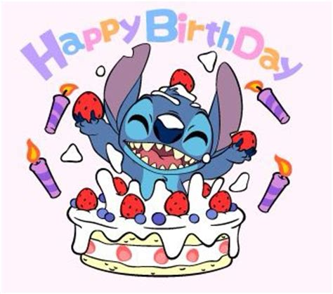 stitches birthday happy bday stitch picture clip