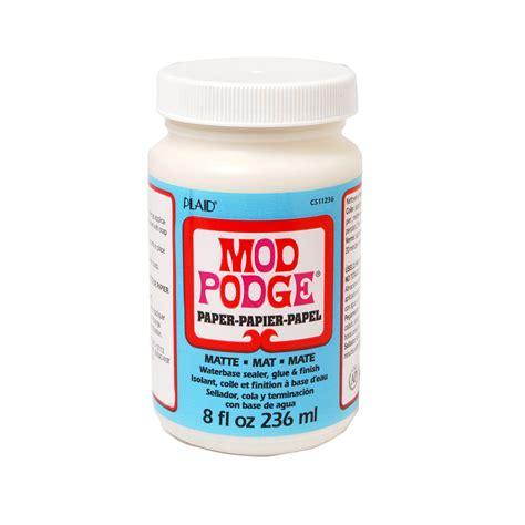Plaid Mod Podge Paper Matte Shop Plaid Mod Podge 174 Paper Matte 8 Oz Cs11236