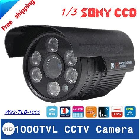 Cctv Outdoor 1000 Tvl In Sony newest 1 3 quot sony ccd cctv hd 1000tvl waterproof