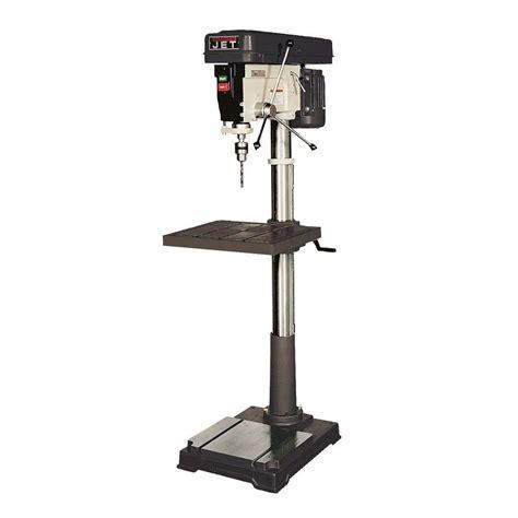 Standing Hp 1 jet 1 hp 20 in floor standing drill press with worklight