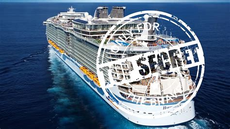 royal caribbeans newest ship harmony of the seas construction update a sneak peek of