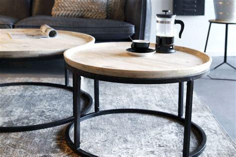 ikea salontafel rond meubelen de jager salontafel rond wood steel