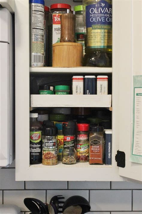 What Is The Shelf Of Dried Spices by Diy Spice Shelf A Simple Way To Expand Your Spice Shelf