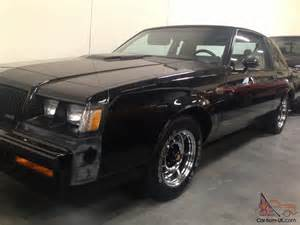 Buick Grand National 87 87 Buick Grand National