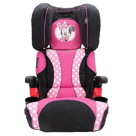 minnie mouse high back booster seat minnie mouse car seat for toddlers minnie mouse car