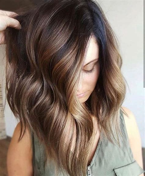 fall highlights for brown hair best 25 hair color with highlights ideas on pinterest