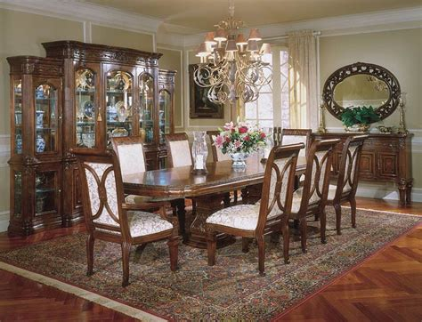 traditional dining room furniture villagio aico dining set aico dining room furniture