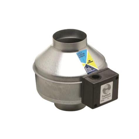 fantech fg series inline centrifugal fans fantech indoor inline 8 in centrifugal fan fg 8xl 502 cfm